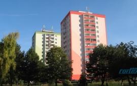 Panelový byt 1+1 se dvěma lodžiemi, Fibichova, Šumperk