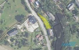 Menší stavební pozemek v malebném prostředí obce Třemešek