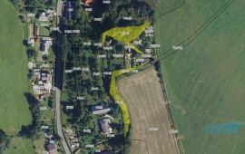 Vlastník prodá pozemky k rekreační účelům v Horní Temenici, Šumperk