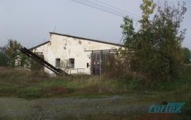 Stavba bývalého kravína a skladu v obci Švihov u Plzně