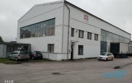 Výrobní a skladovací areál v obci Pecka, okres Jičín