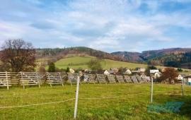 Zemědělské pozemky v obci Bratrušov